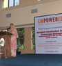 Workshop was launched by Pn Noormah, the Pengarah of Jabatan Kebajikan Malaysia, WP