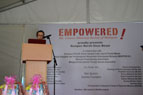 Opening speech by Dr.Christina Ng, Founder and President of EMPOWERED