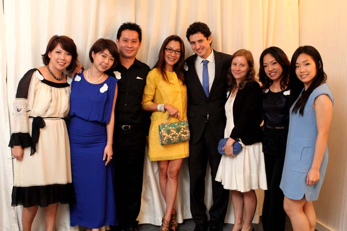 Yang Berbahagia Tan Sri Michelle Yeoh and her fellow angels of the evening