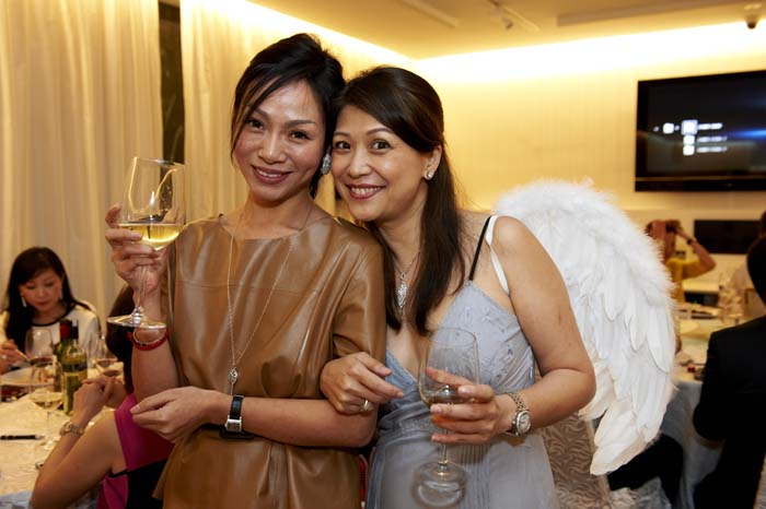 Angels among our esteemed guests