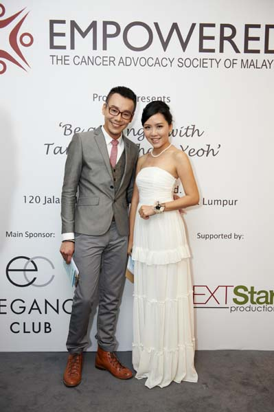 Our MCs for the evening, Tiong and Essel
