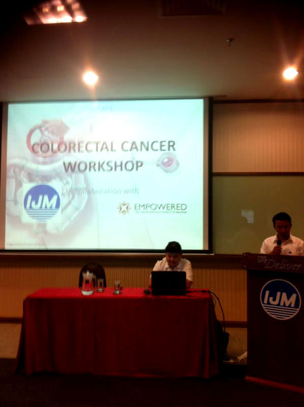 En. Hasni from IJM welcoming the participants to this workshop