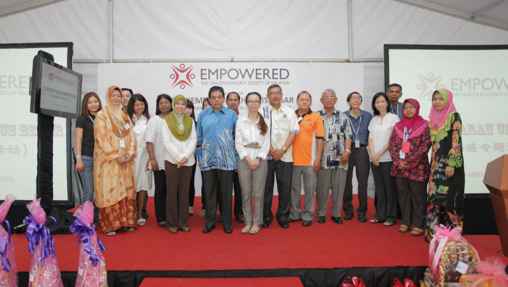 A group photo with EMPOWERED's partners