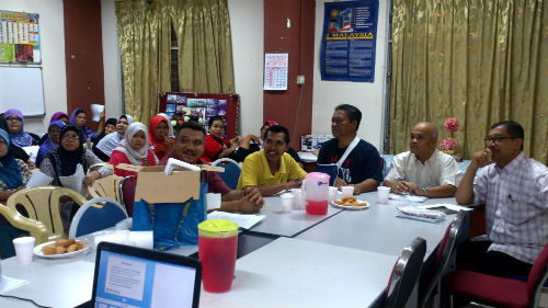 Briefing for Door Knock for Community Volunteers