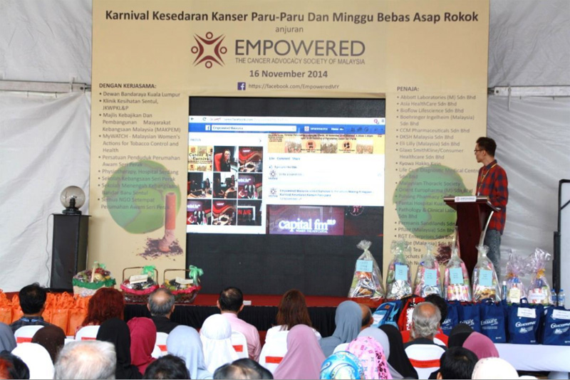 Launch of EMPOWERED social media platform
