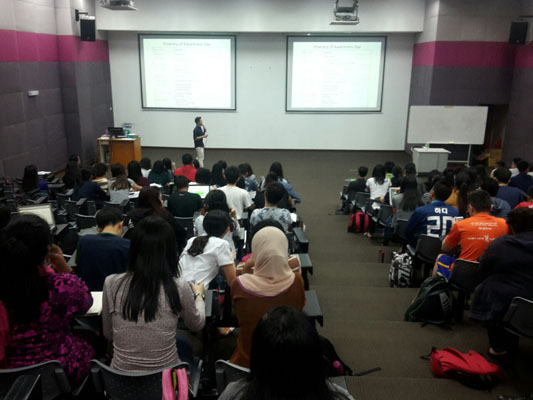 3rd International Medical University Student Volunteer Training