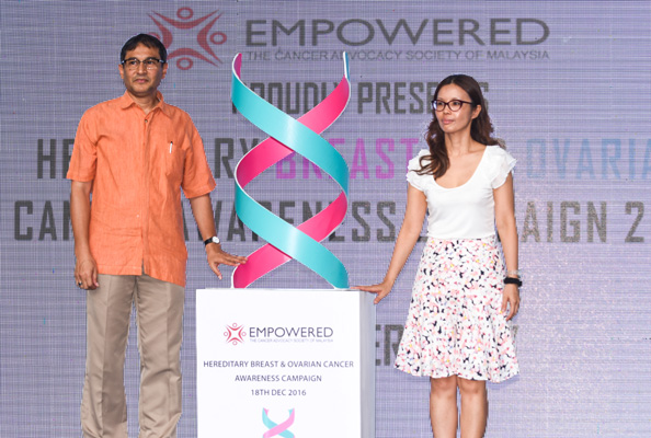 EMPOWERED'S Hereditary Breast and Ovarian Cancer Awareness Campaign 2016