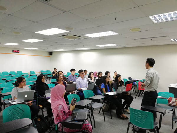 1st & 2nd Student Volunteers Trainings for Colorectal Cancer Awareness & Screening Workshop